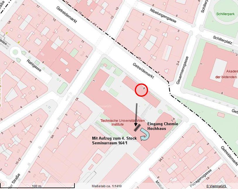 VII-Standort bis Sep. 2011